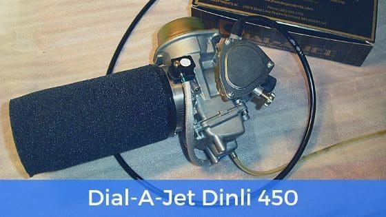 Förgasarbestyckning Dial-A-Jet Dinli 450