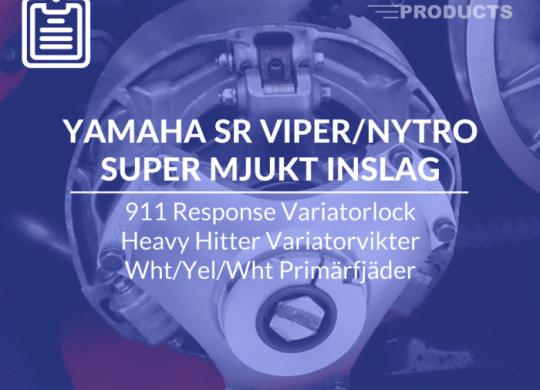 mjukare inslag på Yamaha Viper Nytro