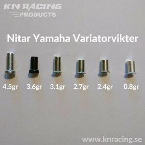Nitar Yamaha Variatorvikt