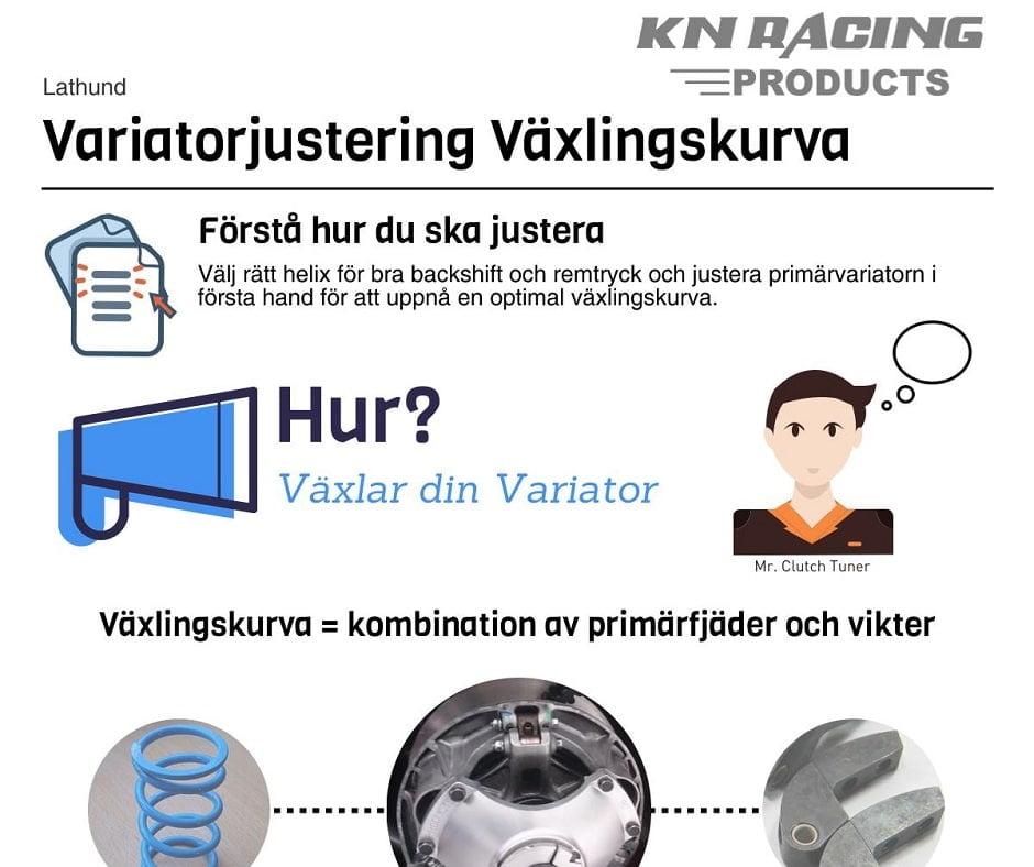 Justera Variatorn-Hur Du Får Till Växlingskurvan