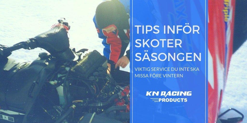snöskoter service tips