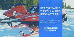 performance tips till äldre snöskotrar
