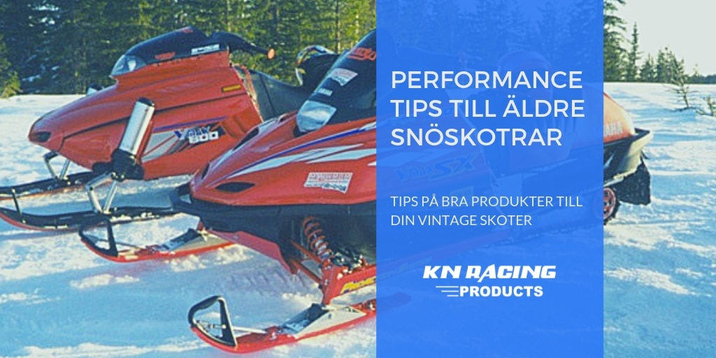 performance tips äldre snöskotrar