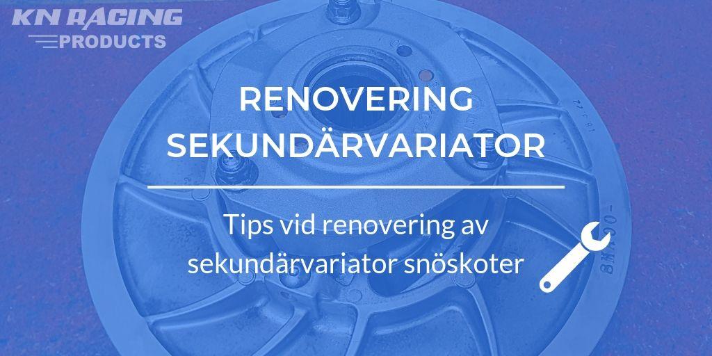 renovera sekundärvariator
